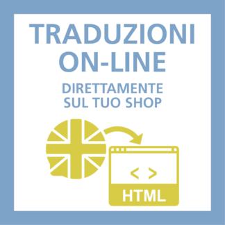 Traduzioni scheda prodotto e scheda categorie