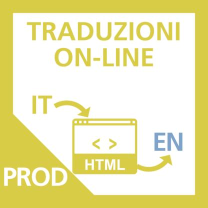 Traduzione Scheda Prodotto da Italiano ad Inglese.