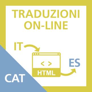 Traduzione Scheda Categoria da Italiano a Spagnolo