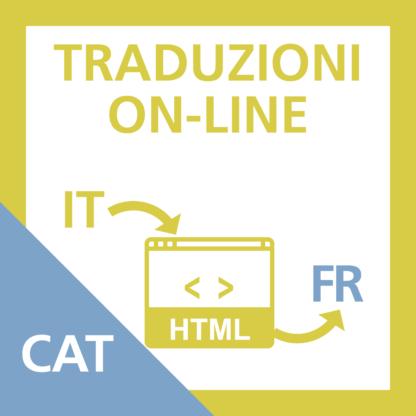 Traduzione Scheda Categoria da Italiano a Francese